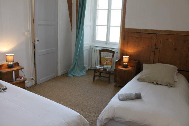 Gîte les Hortensias chambre 2 lits simples