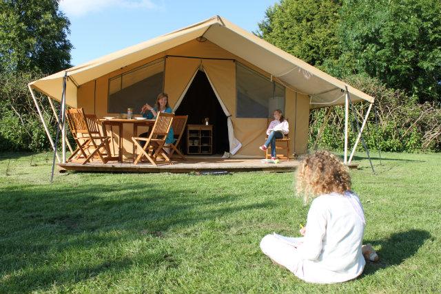 Tente Lodge exterieur