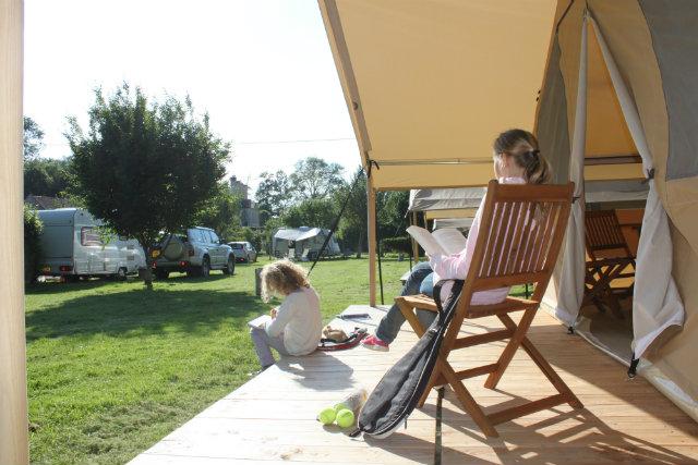 Tente Lodge terrasse