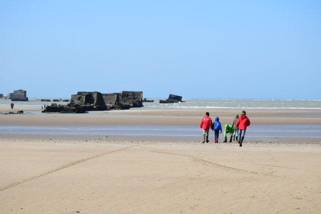 Arromanches plage 2
