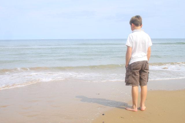 Garcon plage
